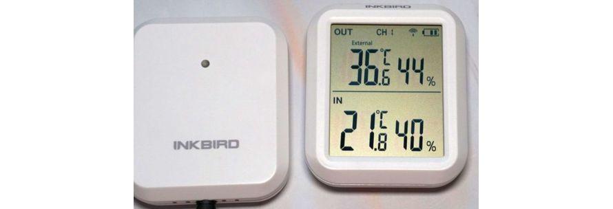 настенный термогигрометр