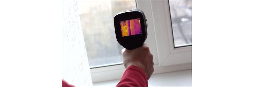 бытовой тепловизор для энергоаудита зданий и домов