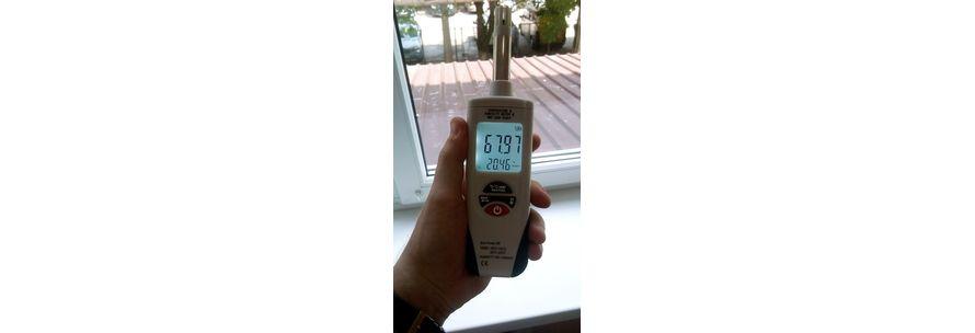 профессиональный термогигрометр