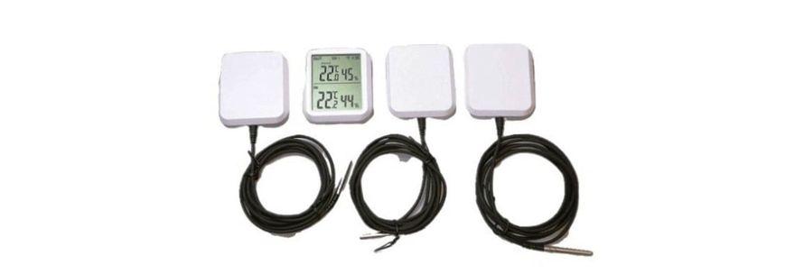 термогигрометр с выносным датчиком